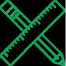 rulers_green