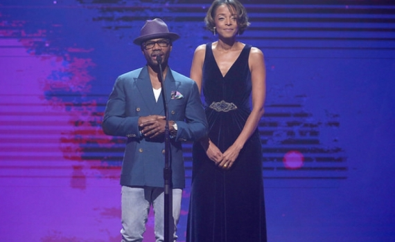 TEP Founder and Kirk Franklin Present #HopeForStudents Campaign at The Dove Awards