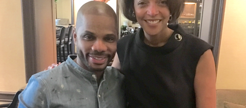 Kirk Franklin joining forces with The Expectations Project; Designs special #HopeForStudents t-shirt